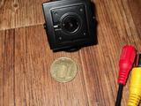 Аналоговая видеокамера пинхол 3. 7 мм