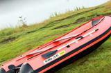 Комплект лодка Solar 380 + мотор Yamaxa 15л. с. 2т, бу